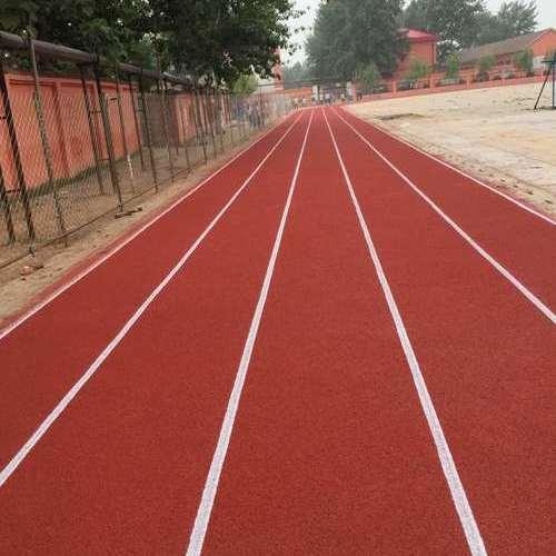 河北邯郸龙山中学300米透气型塑胶跑道