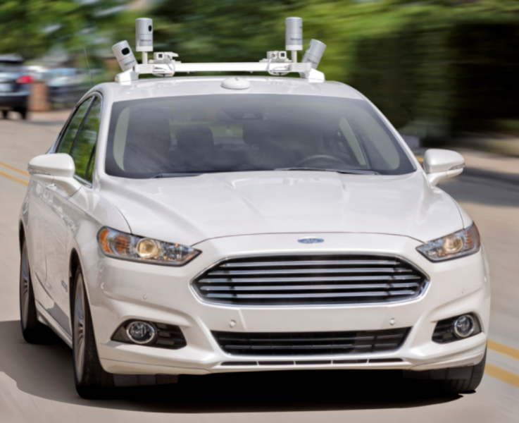 Ford autonomous vehicles data set