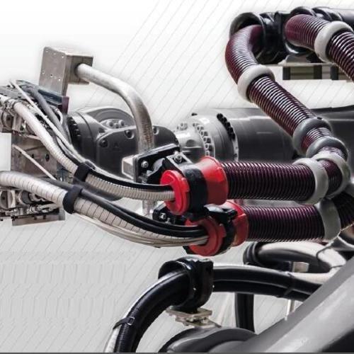Becker机器人轴支架4.HA6.2000六轴支架,200mmx15mm 直型 镀锌