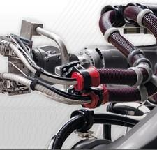 Becker機器人管線包夾緊環4.117.90XX 夾緊環,直徑為XXmm,用於波紋管球,內徑90可消除應力,軟PUR