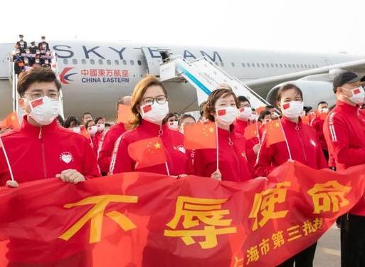 欢迎回家!上海支援湖北医疗队第二批返沪队员今天凯旋,龚正赴机场迎接