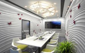 辦公室天花板裝飾的方法有哪些?開敞式辦公室吊燈裝飾如何布置?