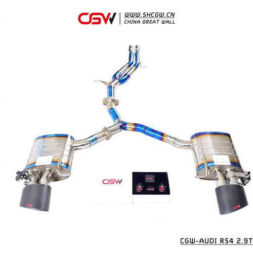 奥迪RS4 2.9T钛合金全段排气