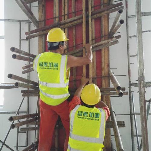 上海美兰湖幼儿园柱增大截面