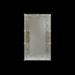 四个季节-威尼斯墙镜-刻有穆拉诺玻璃