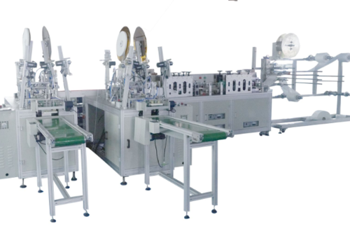 Fully-automatic mask making machine (1+2)