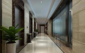 辦公室5米多墻搭配哪種玻璃門裝飾好看?