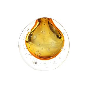 花瓶金色圆顶-SOMMERSO-原装MURANO玻璃