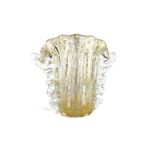 FISARMONICA花瓶-含真金-原装MURANO玻璃