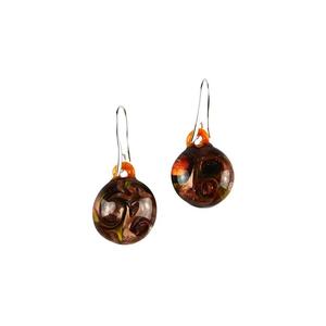 耳环被淹没-AVVENTURINA装饰-原装MURANO GLASS