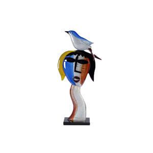 向毕加索致敬-玻璃雕塑