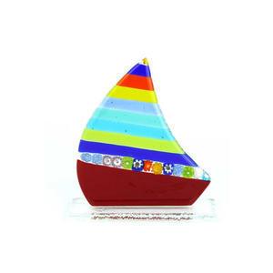 帆船-多色-MURANO原装玻璃