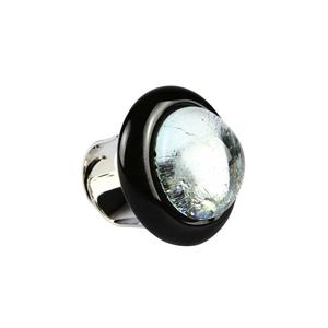 戒指-浸银玻璃-穆拉诺玻璃原味