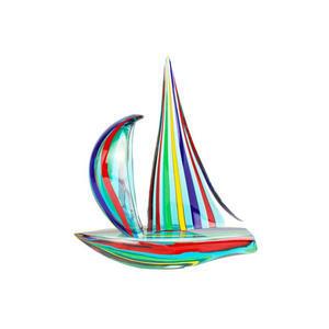 帆船混合绿色戛纳电影节-雕塑-穆拉诺玻璃