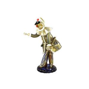 丑角雕塑-WALTER FURLAN-原始的穆拉诺玻璃