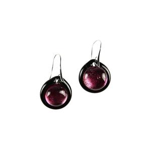 耳环浸入式玻璃杯-紫色-穆拉诺玻璃原版