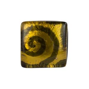 迷人戒指-金色-MURANO原始玻璃