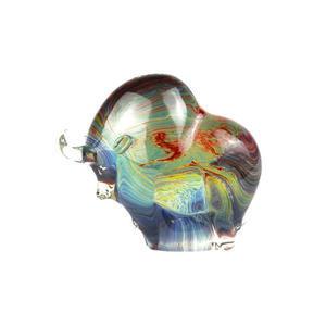 BULL DREAMER-玉髓雕塑-MURANO原始玻璃
