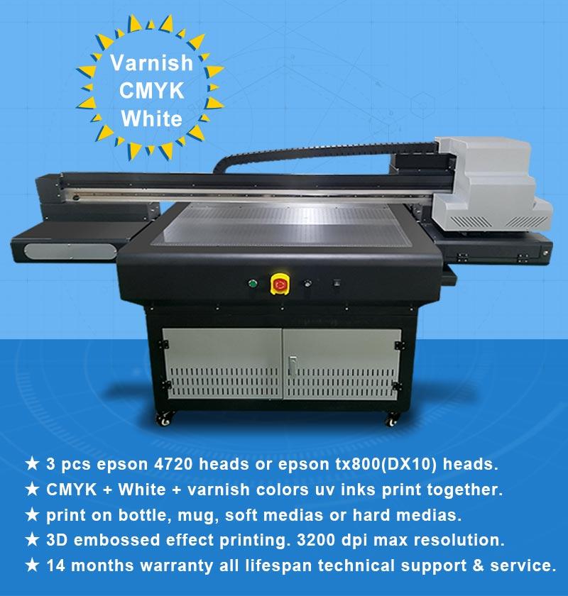 Large Format Flatbed Metal Sheet Ceramic Tiles Uv Printer