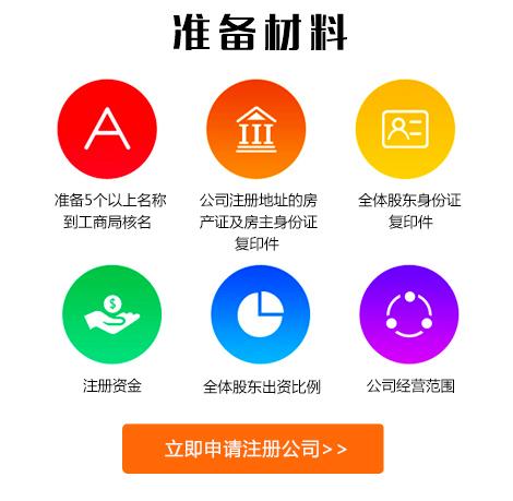 杭州公司注册材料