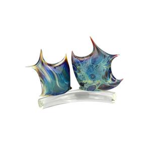 鱼-玉髓雕塑-穆拉诺玻璃原味