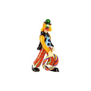 小丑雕像ULAOP播放器原始MURANO GLASS