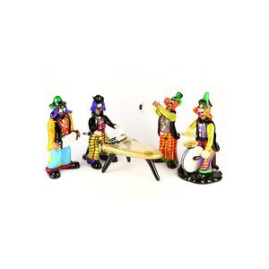 小丑小雕像乐队音乐播放器原创MURANO GLASS