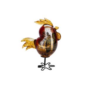 吹鸡-红色-穆拉诺玻璃原味