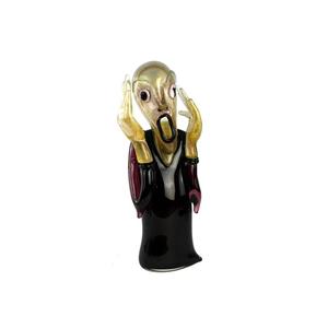 尖叫声-蒙克致敬-原始穆拉诺玻璃