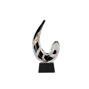 萨克斯-原始的穆拉诺玻璃OMG雕塑