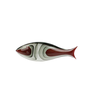 鱼摘要-雕塑穆拉诺玻璃