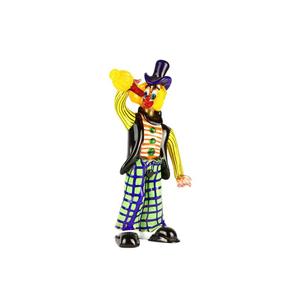 原装MURANO GLASS OMG酒吧的小丑雕像卡牌玩家