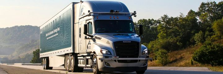 Daimler Trucks and Torc Robotics said public road testing efforts allow the teams to collect data from real-world traffic scenarios beyond what can be learned from computer simulations and closed road courses. - Photo: Daimler Trucks North America