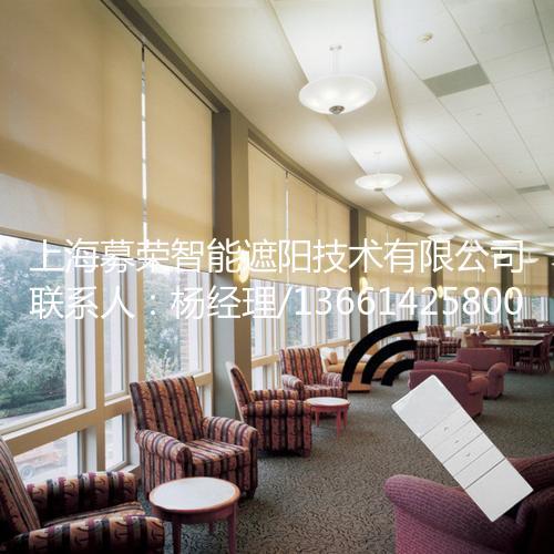 办公室电动卷帘,上海募荣智能遮阳技术有限公司
