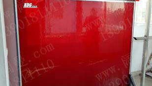 焊接防护屏,红色焊接挡板
