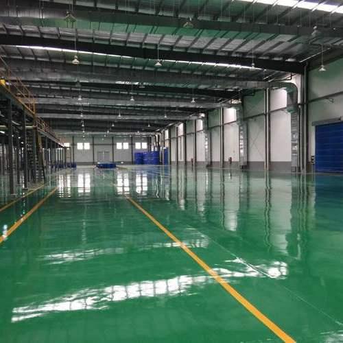上海同立厂房防静电地坪漆工程