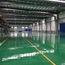 上海同立廠房防靜電地坪漆工程