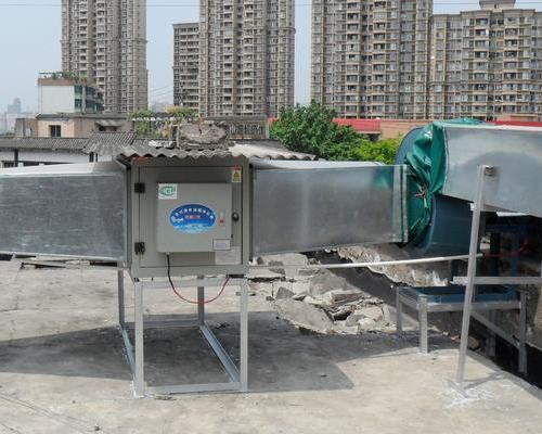 油烟净化器厂家丨餐饮油烟净化器的安装注意事项