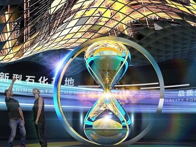 科技感企业多媒体展厅设计所包含的要点