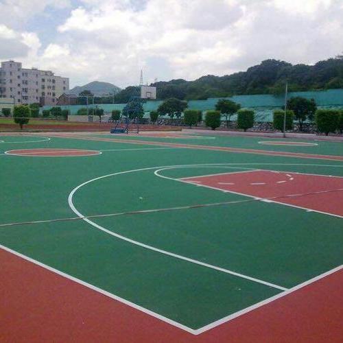 浙江象山桂花园小区篮球场