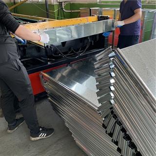 上海风管加工厂来料加工半成品L型