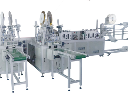 Fully-automatic Flat Mask Production Line is hot sale !!!