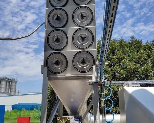 瓦克化学除尘系统的改造