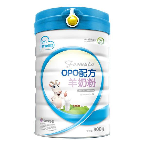 OPO 配方羊奶粉    800克《6个月以上的婴幼儿》、《吸收不好,偏瘦、挑食的宝宝》都适用