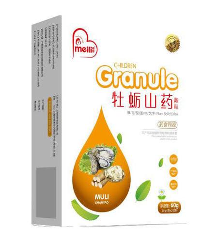 牡蠣山藥顆粒   NET  4g/袋(20袋)《生津益肺、安神補鈣》