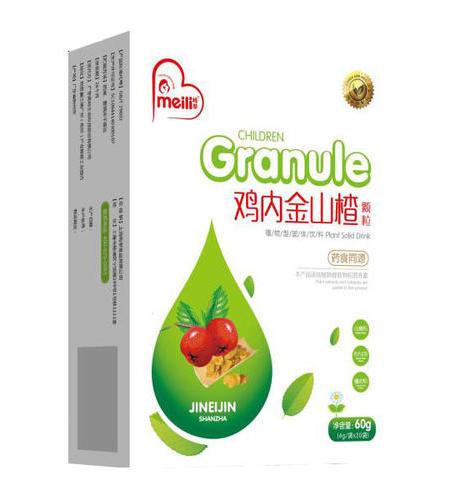 鸡内金山楂颗粒 NET 4g/袋(20袋) 《健脾消食、行气散瘀》