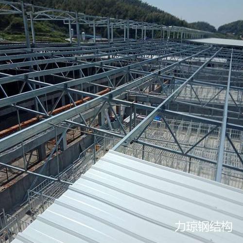湖南岳阳猪场施工中