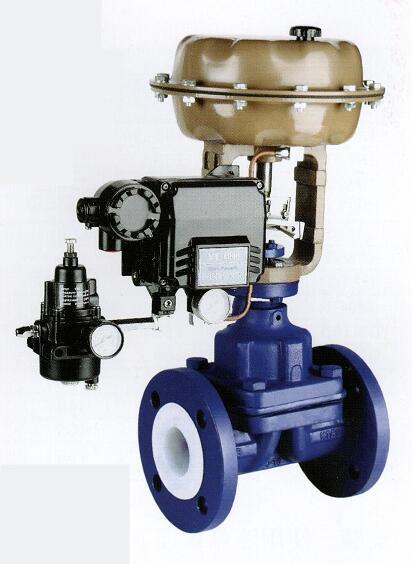 气动衬氟调节隔膜阀图片