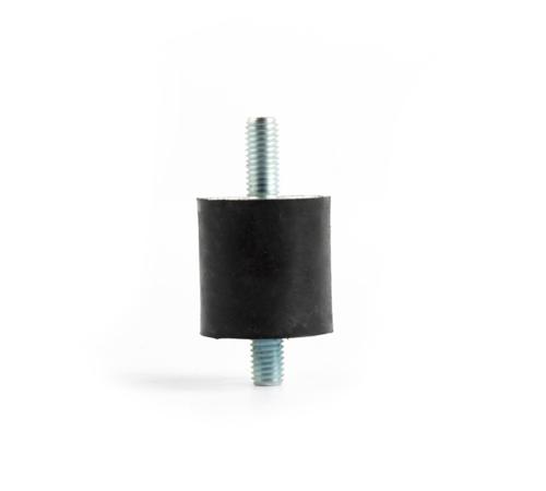 双头螺丝,橡胶减震垫D40H30天然橡胶减震垫