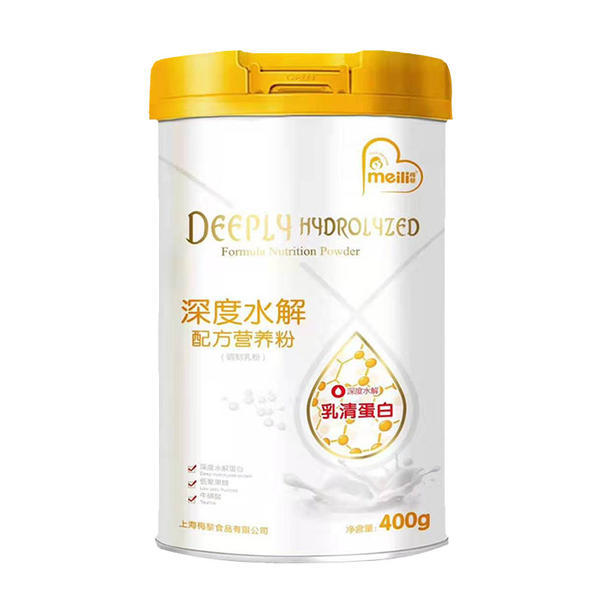 深度水解幼儿特殊配方    400克  《专为牛奶蛋白过敏,易吸收》